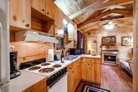 Kitchen Area of Cabin Rental