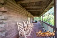Pet Friendly Cabin - Rocking chairs