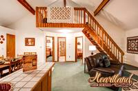 Living room in this 2 bedroom chalet in Pigeon Forge