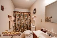 Ful bathroom of this 2 bedroom chalet in Pigeon Forge