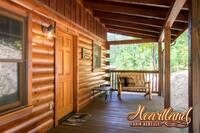 Wooden porch furniture