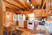 Full Kitchen of this 1 bedroom Pigeon Forge TN cabin
