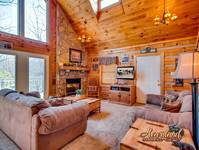 Living room - Pet Friendly Cabin