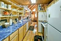 Kitchen Outside of Barefoot Dreams - 2 Bedroom Cabin near Pigeon Forge
