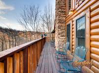 Rocking chairs - 4 bedroom in Gatlinburg cabin rental