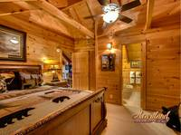 Bedroom of Bear Hug - 4 bedroom in Gatlinburg cabin rental - Sleeps 8