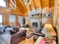 Wears Valley Cabin Rentals - Pigeon Forge - Buzzards Roost 4 bedroom ...