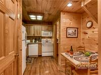 Full Kitchen with dining table - 2 bedroom Cabin