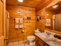 Full size bathroomwith double sinks