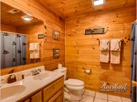 Full size bathroom with double sinks