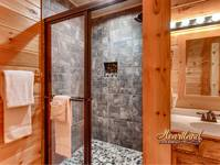 Bathroom In Buzzards Roost - Wears Valley Cabin