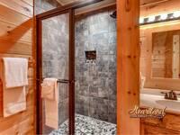 Bathroom In Buzzards Roost - Wears Valley Cabin