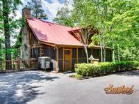 Outside view of Barefoot Dreams - 2 Bedroom 2 Bath Cabin near Pigeon Forge