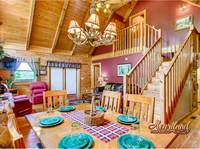 2 bedroom cabin rental in Pigeon Forge TN