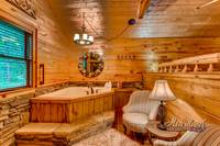 Jacuzzi tub in the master suite