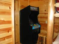 Play games on the Classic Arcade 60/Pac Man/donkey kong