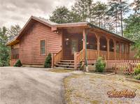 Beautiful 2 bedroom cabin with hot tub