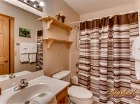 Full size bathroom with shower - 2 bedroom cabin near Wears Valley