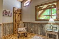 Bedroom of Afternoon Delight - 1 bedroom cabin near Pigeon Forge