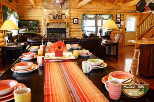 8 Bears Lodge 5 Bedroom Gatlinburg Cabin