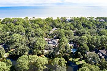 18 South Beach Lane 4 BR Home Sea Pines 4 Bedroom Cabin Rental