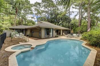 43 Woodbine Sea Pines 3 BR Home Pool 3 Bedroom Cabin Rental