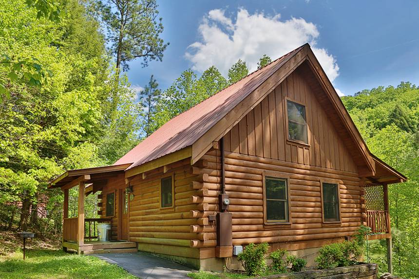 Magic moments 2 bedroom pigeon forge cabin rental One bedroom cabins in pigeon forge tn