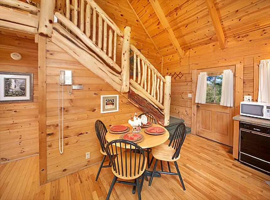 Little Lost Valley Cabin: Mountain Meadows 1 Bedroom Pigeon Forge Cabin Rental