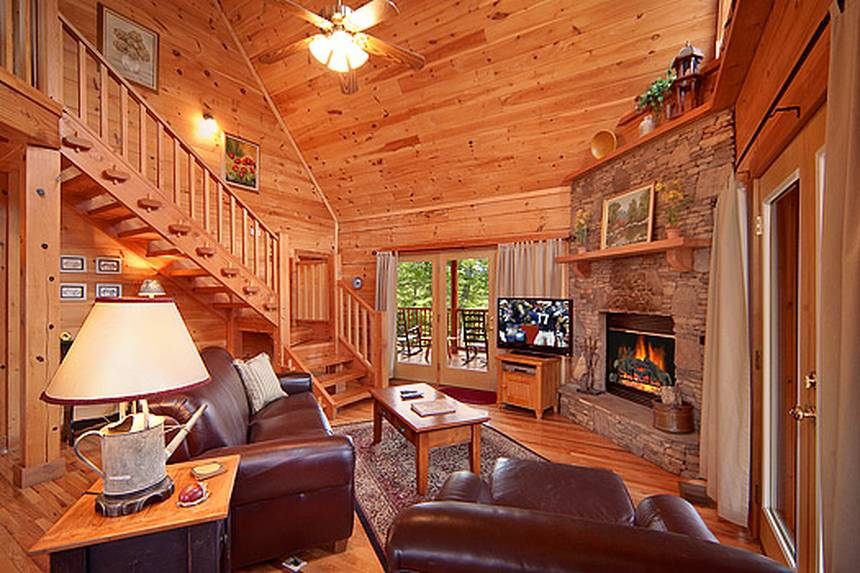 Shady Lady 2 Bedroom Pigeon Forge Cabin Rental