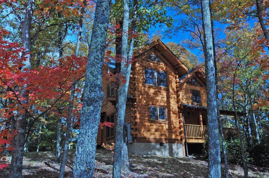Little Lost Valley Cabin: Hidden Mountain 2 Bedroom Pigeon Forge Cabin Rental