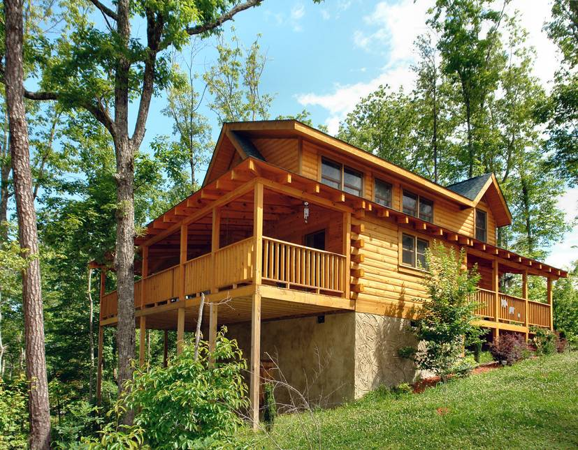 Little Lost Valley Cabin: Mountain Dreams 3 Bedroom Pigeon Forge Cabin Rental