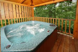 Hot Tub on Private Deck