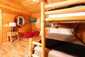 Bunk Beds with Twin and Queen Bed