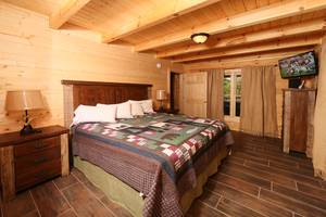 Main Level Bedroom, King Bed, Cable TV, Full Bathroom