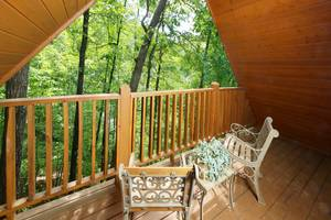 Private Deck off Bedroom