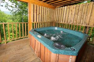Hot Tub on Private Deck Overlooking Views