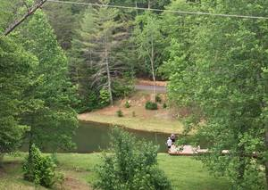 View of Fishing Pond