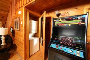 Video Arcade Game and Washer/Dryer