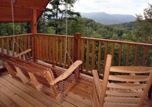 Mountain Views from Back Deck