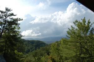 Beautiful View from Cabin!
