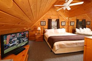 Loft Bedroom with King Bed