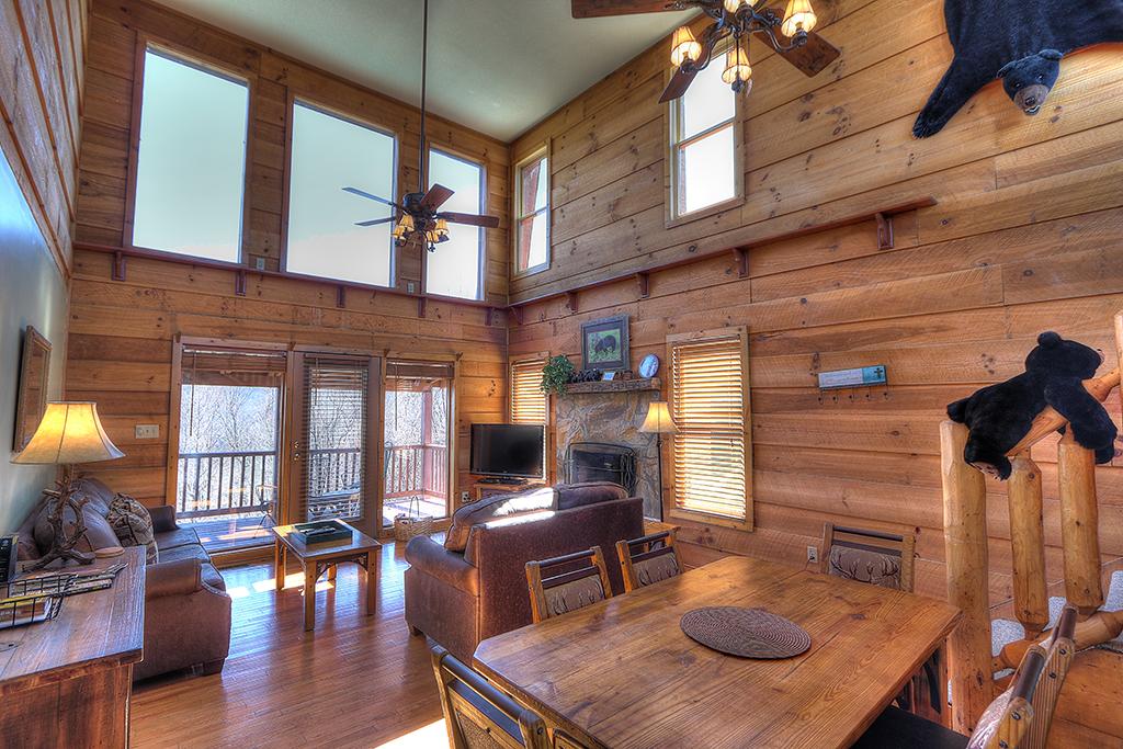 Million Dollar View 29 Maples Ridge Cabin Rentals