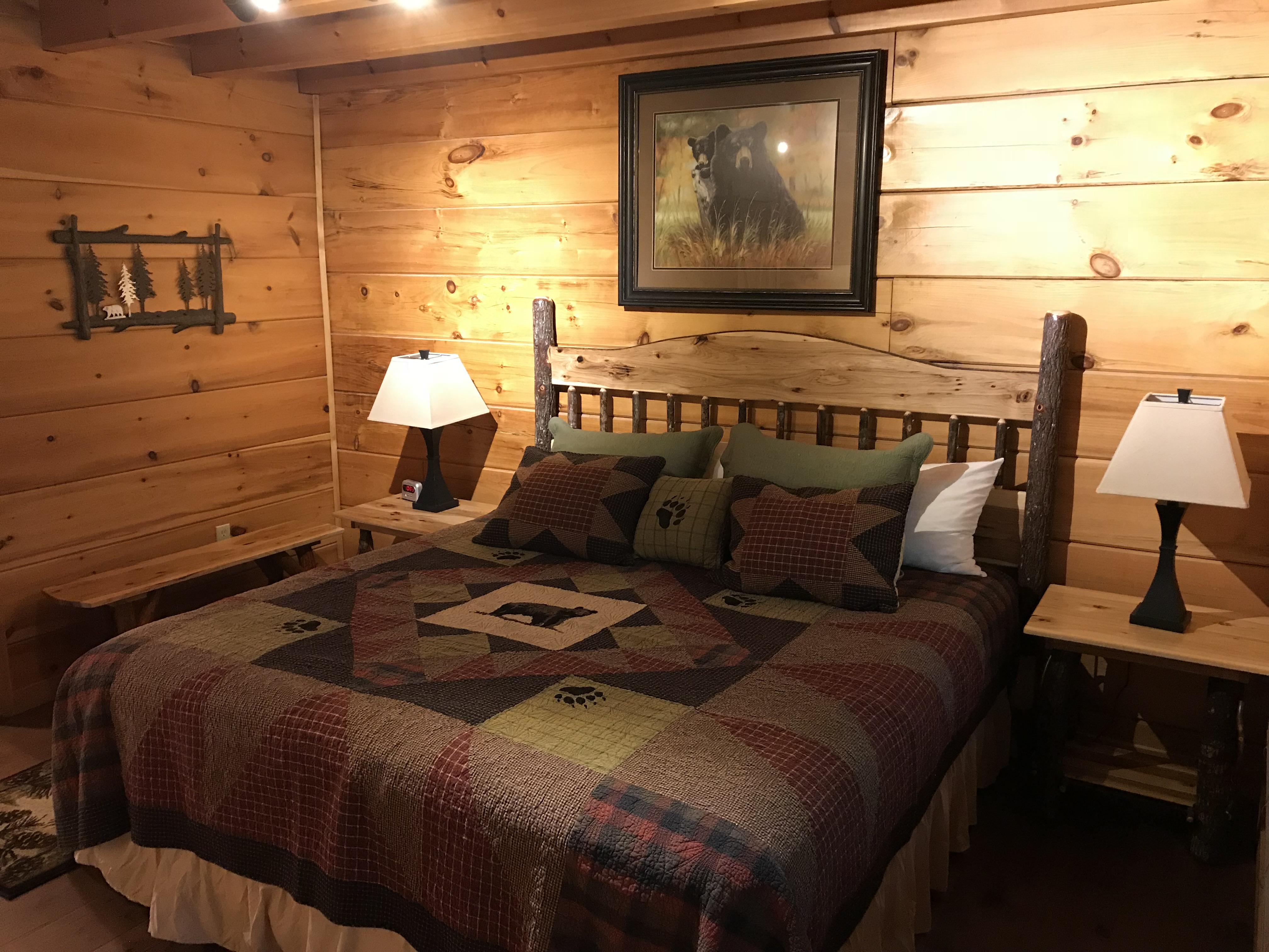 Timber Top Cabin 4 Maples Ridge Cabin Rentals