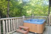 Hot Tubbin it in the Smokies! at Mountain Romance 1 in Gatlinburg TN