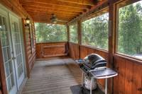 Relax and Enjoy the Great Smoky Mountain Air on our Porch And Enjoy The amazing Views of The Smokies.  at SweetHeart's Retreat 71 in Gatlinburg TN