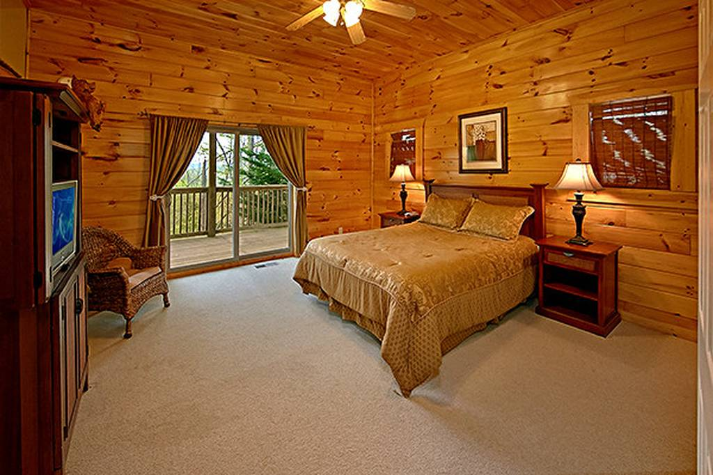 Large Bedroom and Bed