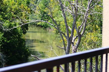Taken at AT RIVERS EDGE CONDO in Near Pigeon Forge TN