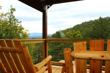 Taken at BLESSED WITH A VIEW in Near Pigeon Forge TN