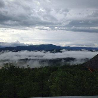 Taken at BLACKSTONE LODGE in Near Pigeon Forge TN