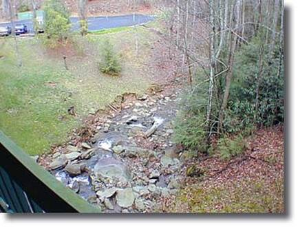 Taken at Falling Waters Condo in Gatlinburg TN